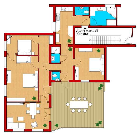 apartment 6 layout