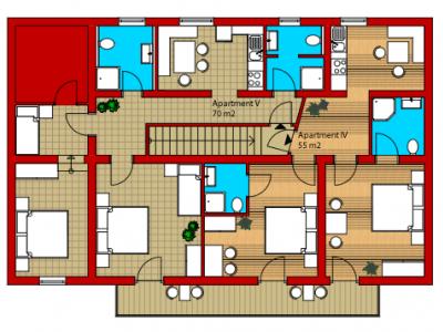 Apartment 5 (4-7 personer)